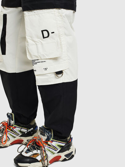 Diesel - P-MELTY, Negro/Blanco - Pantalones - Image 5