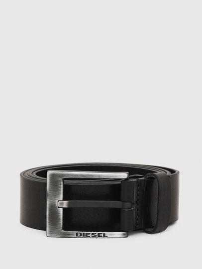 Diesel - B-SPAZZO, Negro - Cinturones - Image 1