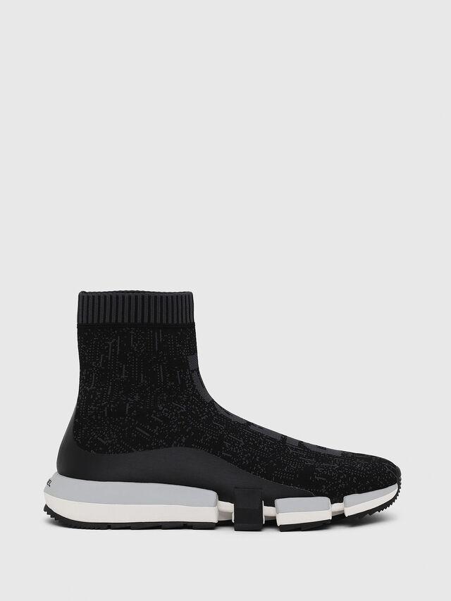 Diesel - H-PADOLA MID SOCK, Negro - Sneakers - Image 1