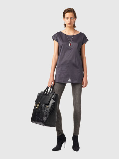Diesel - T-IMMERS-B1, Gris oscuro - Tops - Image 5