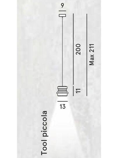 Diesel - TOOL PICCOLA SOSP, Negro - Lámparas de Suspensión - Image 2