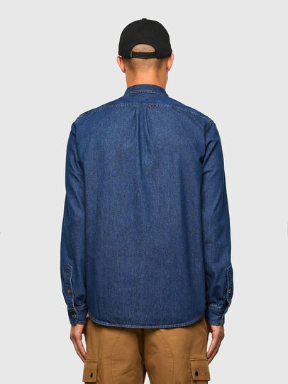 Diesel - D-BILLY, Azul Oscuro - Camisas de Denim - Image 2