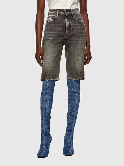Diesel - DE-LILY-SP1, Negro - Shorts - Image 1
