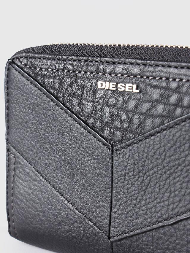 Diesel - JADDAA, Piel Negra - Monederos Pequeños - Image 3