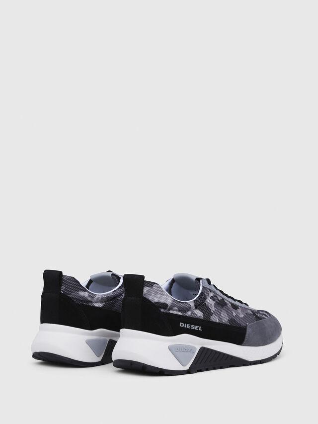 Diesel - S-KB LOW LACE, Gris/Negro - Sneakers - Image 3