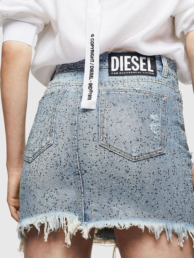 Diesel - DE-ELLE-S, Blue Jeans - Faldas - Image 2