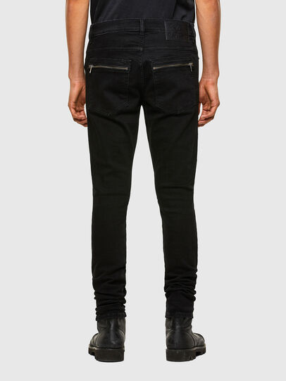 Diesel - D-Amny 009RB, Negro/Gris oscuro - Vaqueros - Image 2