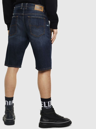 Diesel - THOSHORT, Azul Oscuro - Shorts - Image 2