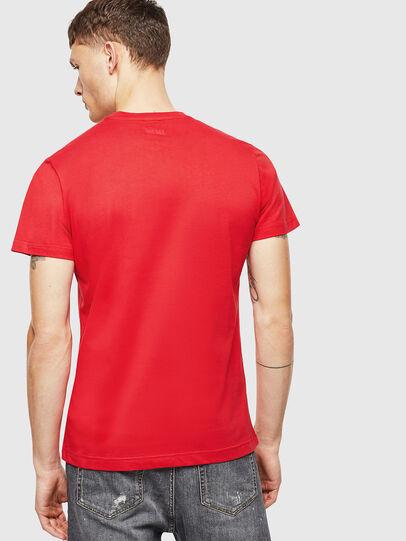 Diesel - T-DIEGO-J1, Rojo - Camisetas - Image 2