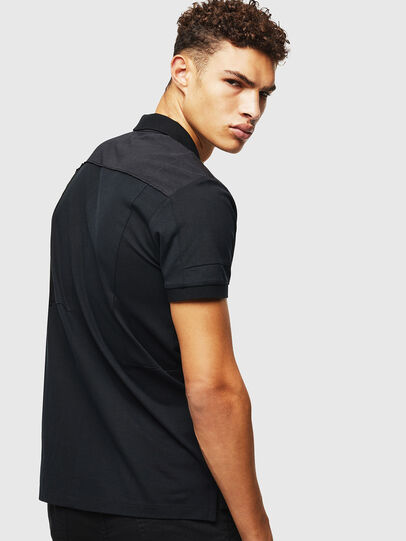 Diesel - T-POLPATCH, Negro - Polos - Image 2