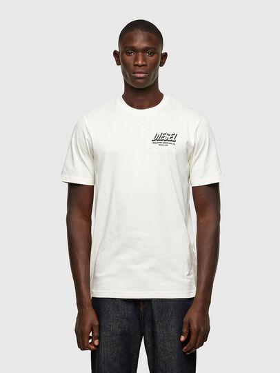 Diesel - T-JUST-A33, Blanco - Camisetas - Image 1