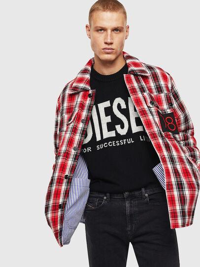 Diesel - S-JOHNS, Rojo/Negro - Camisas - Image 6