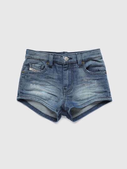 Diesel - PGINGHER JOGGJEANS, Azul medio - Shorts - Image 1
