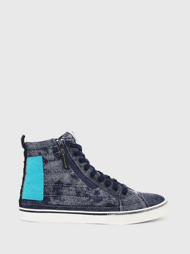 Diesel - D-VELOWS MID PATCH, Azul - Sneakers - Image 1
