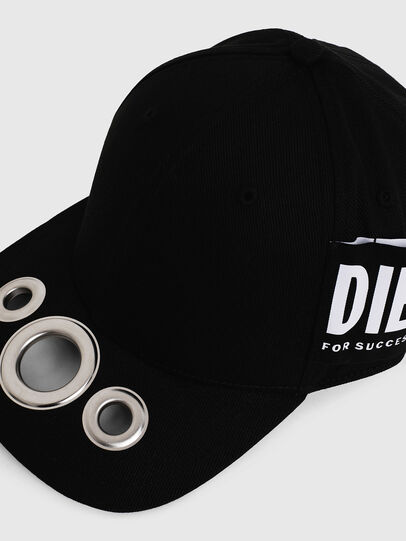 Diesel - CHOLES, Negro - Gorras - Image 3