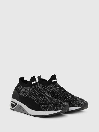 Diesel - S-KB ATHL SOCK II, Negro - Sneakers - Image 2