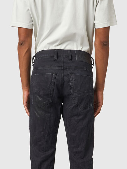 Diesel - Krooley JoggJeans® 069WB, Negro/Gris oscuro - Vaqueros - Image 4