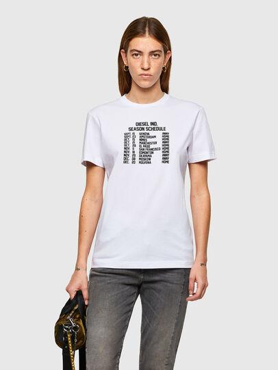Diesel - T-DIEGOS-A11, Blanco - Camisetas - Image 1