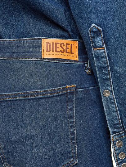 Diesel - D-Jevel 009HL, Azul Oscuro - Vaqueros - Image 5