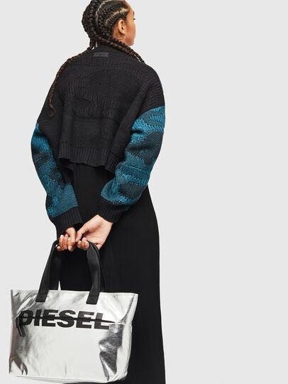 Diesel - F-BOLD SHOPPER II, Plata - Bolsos Shopper y Al Hombro - Image 6