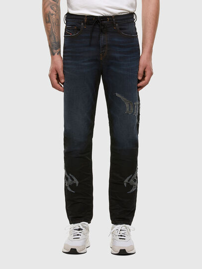 Diesel - D-Vider JoggJeans 009HE, Azul Oscuro - Vaqueros - Image 1