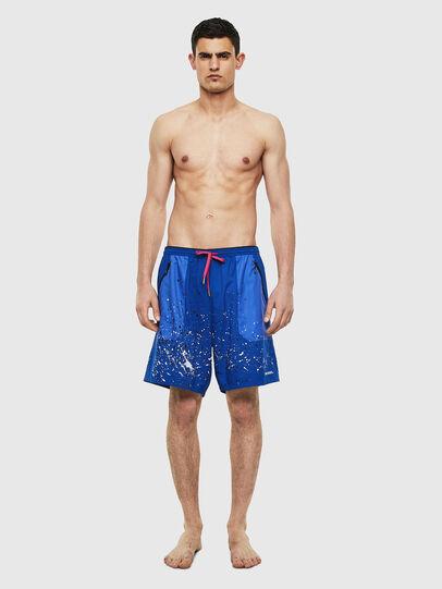 Diesel - BMBX-TUNAPO, Azul Brillante - Bañadores boxers - Image 1