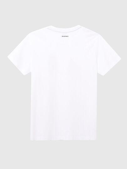 Diesel - UFTEE-ELODIE, Blanco - Camisetas - Image 2