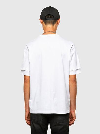 Diesel - T-FONTAL, Blanco - Camisetas - Image 2