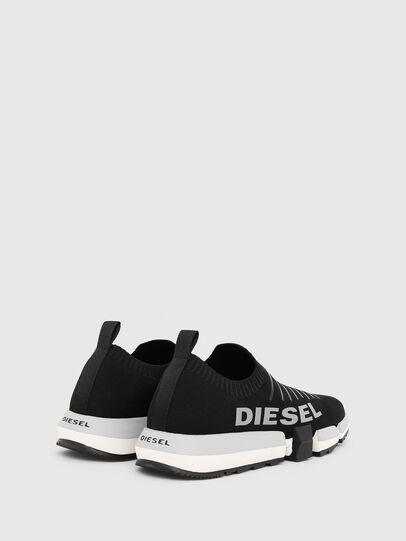 Diesel - H-PADOLA LOW SOCK, Negro - Sneakers - Image 3