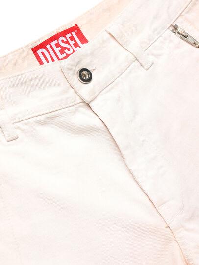 Diesel - GR02-P303, Blanco - Shorts - Image 3