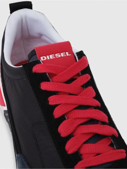 Diesel - S-KB LOW LACE, Negro/ Rojo - Sneakers - Image 5