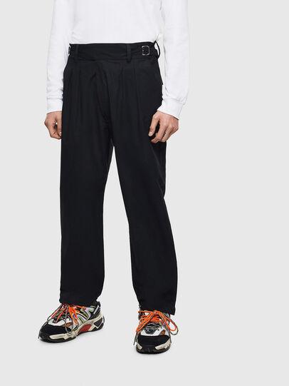 Diesel - P-COOLE, Negro - Pantalones - Image 1