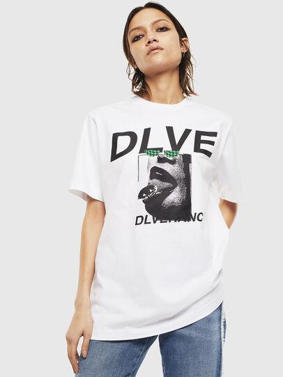 Diesel - T-JUST-T21, Blanco - Camisetas - Image 2