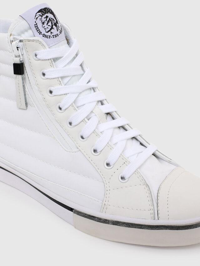 Diesel - D-VELOWS MID PATCH W, Blanco - Sneakers - Image 4