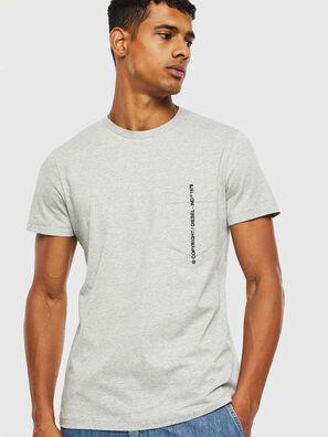 T-RUBIN-POCKET-J1, Gris - Camisetas