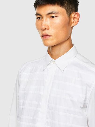 Diesel - S-WEIR, Blanco - Camisas - Image 3