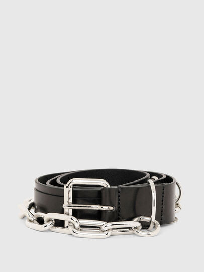 Diesel - B-RICH, Negro - Cinturones - Image 1