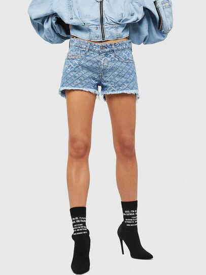 Diesel - DE-RIFTY, Azul Claro - Shorts - Image 1
