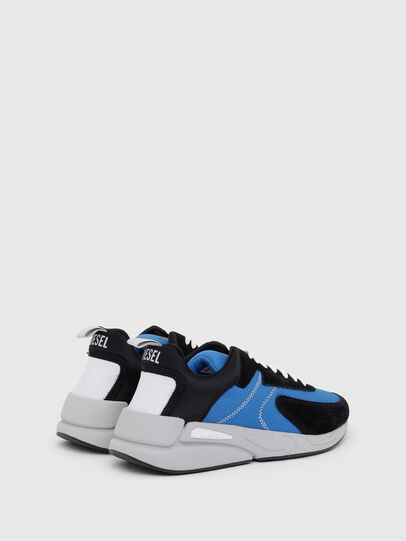 Diesel - S-SERENDIPITY LOW CU, Negro/Azul marino - Sneakers - Image 3