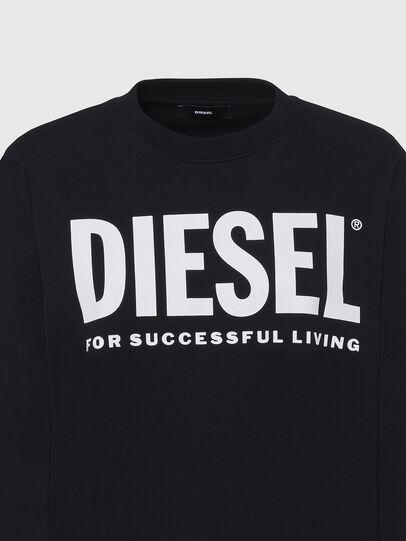 Diesel - F-ANG, Negro - Sudaderas - Image 3
