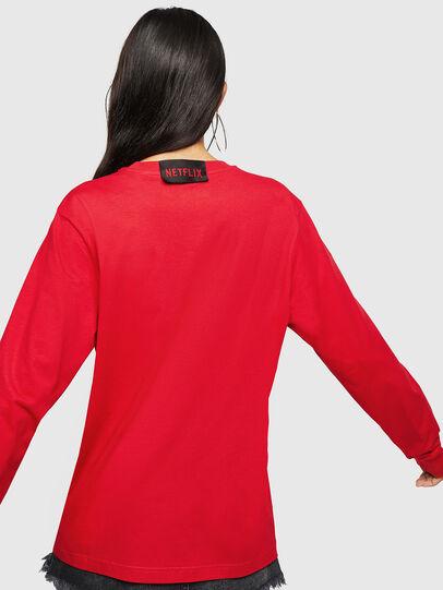 Diesel - LCP-T-JUST-LS-PALERM, Rojo - Camisetas - Image 4