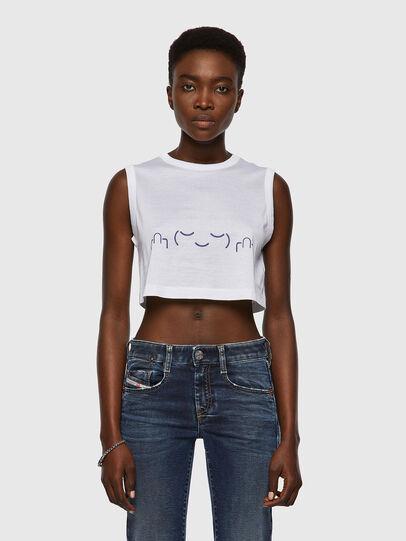 Diesel - T-WELL, Blanco - Camisetas - Image 1