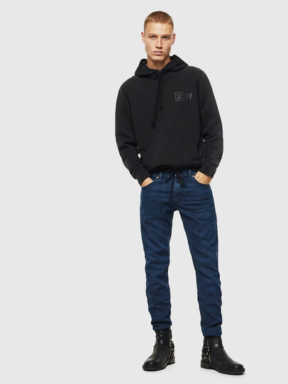 Diesel - Thommer JoggJeans 0688J, Azul Oscuro - Vaqueros - Image 6