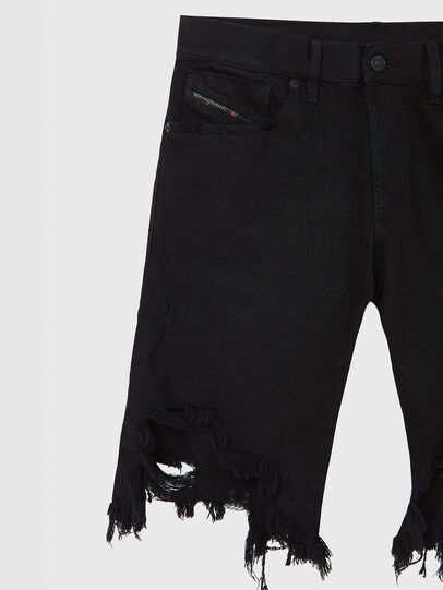 Diesel - D-KRASY, Negro - Shorts - Image 3