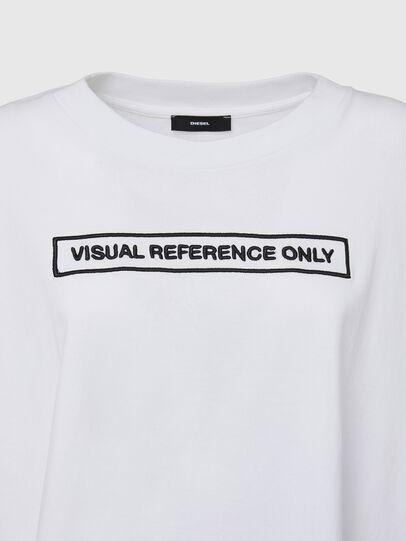 Diesel - T-CRAMBLE, Blanco - Camisetas - Image 3