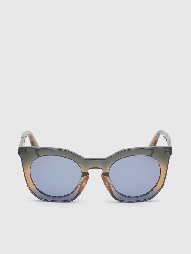 Diesel - DL0283, Azul/Amarillo - Gafas de sol - Image 1