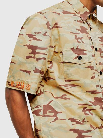 Diesel - S-RONNIE, Beige - Camisas - Image 5