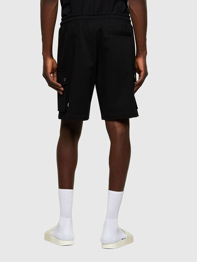 Diesel - P-PRONE, Negro - Shorts - Image 2