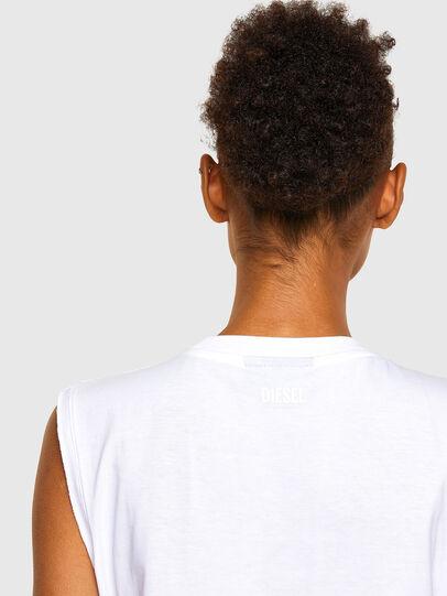 Diesel - T-PUNKYER-R1, Blanco - Camisetas - Image 4