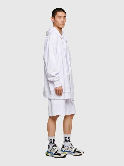 Diesel - P-HORTY, Blanco - Shorts - Image 4